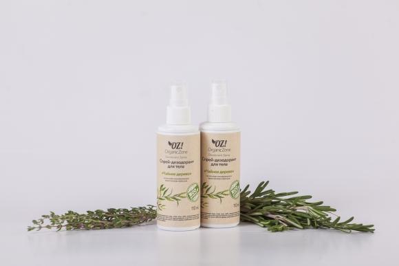 Дезодорант для тела с эфирными маслами Чайное дерево