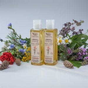 Органическое гидрофильное масло для жирной кожи Эвкалипт и бергамот