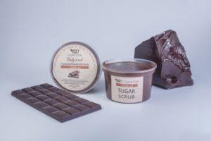Сахарный скраб для тела Шоколад